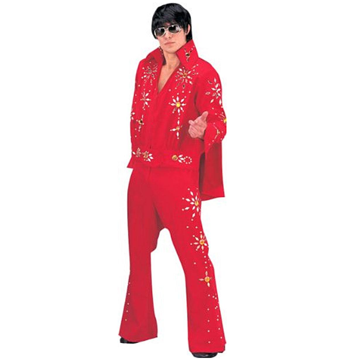 Elvis Jumpsuit, Red