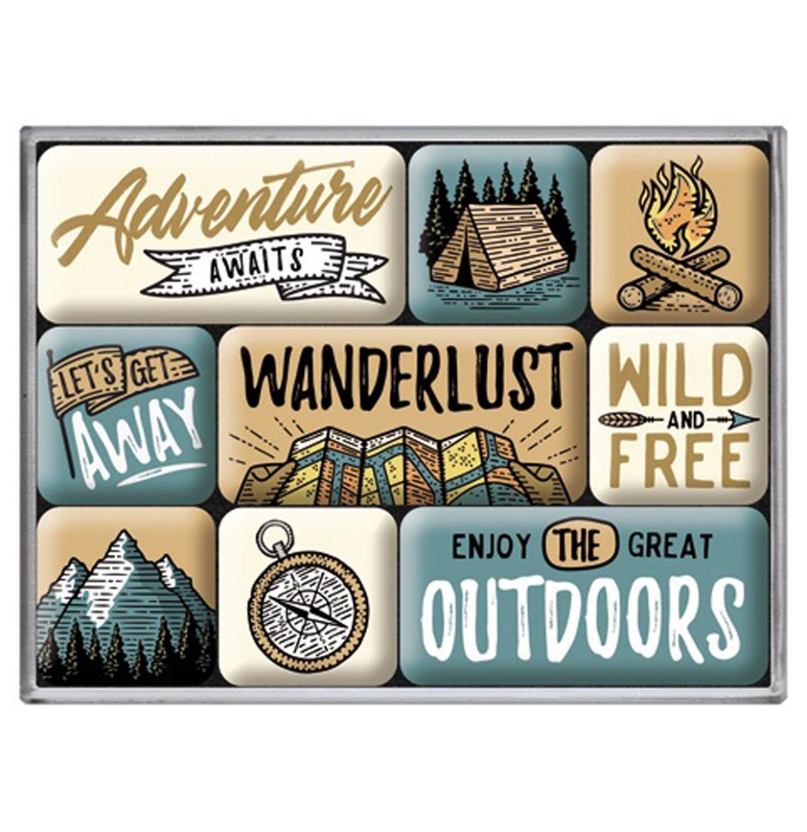 Magneet Set Outdoor Adventure