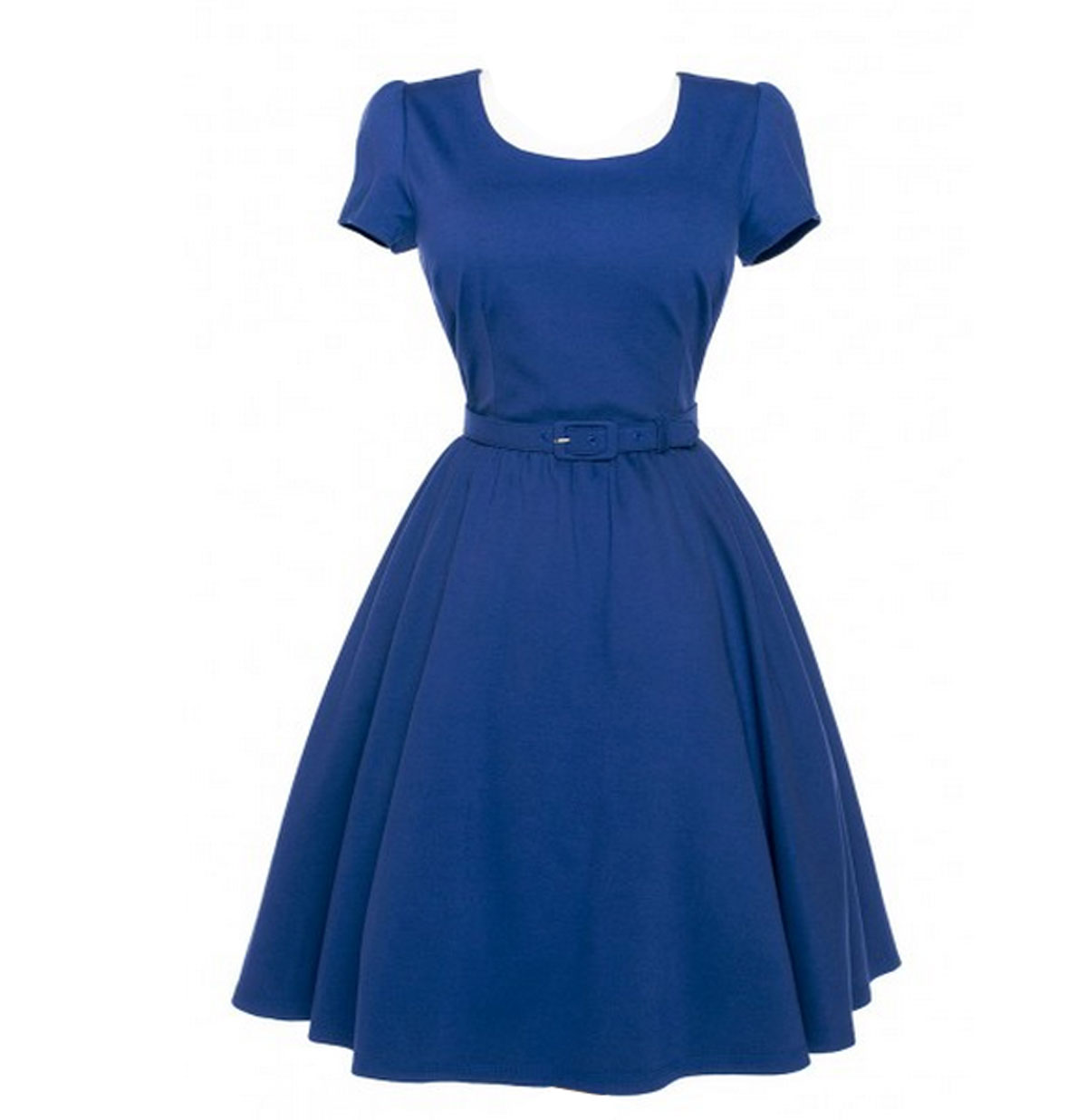 Katie Dress Blue Pinup Couture