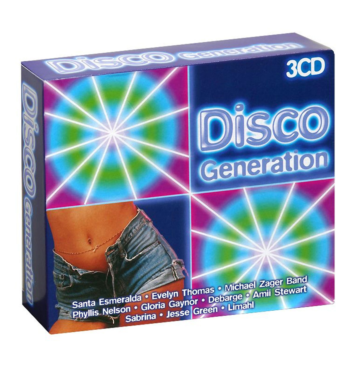 Various Artists - Disco Generation 3CD