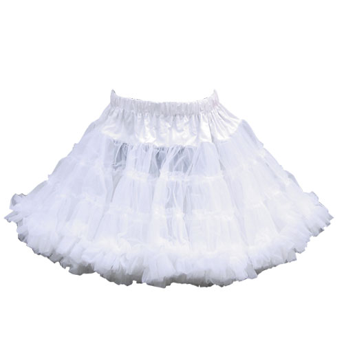 Kinderpetticoat, 21' Wit 715