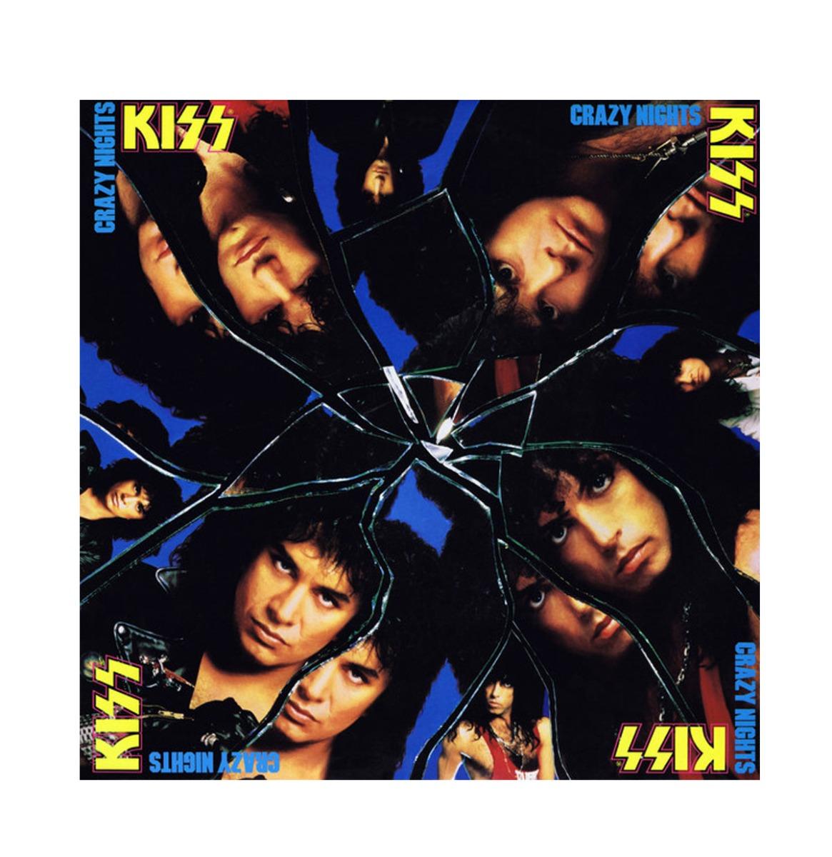 Kiss - Crazy Nights LP First Vinyl Reissue