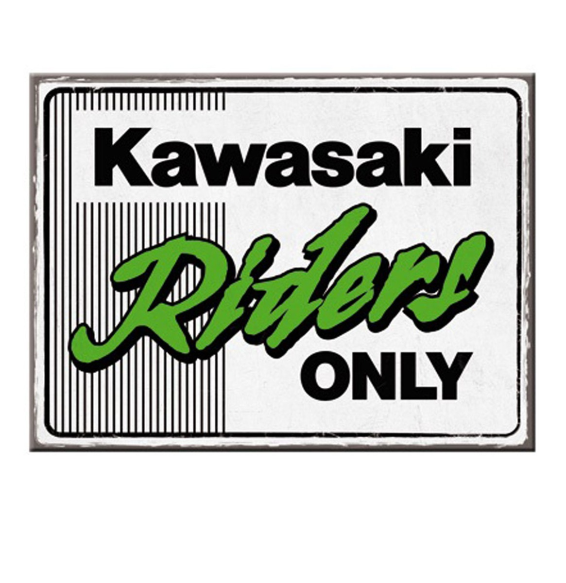Magneet Kawasaki - Riders Only Ninja