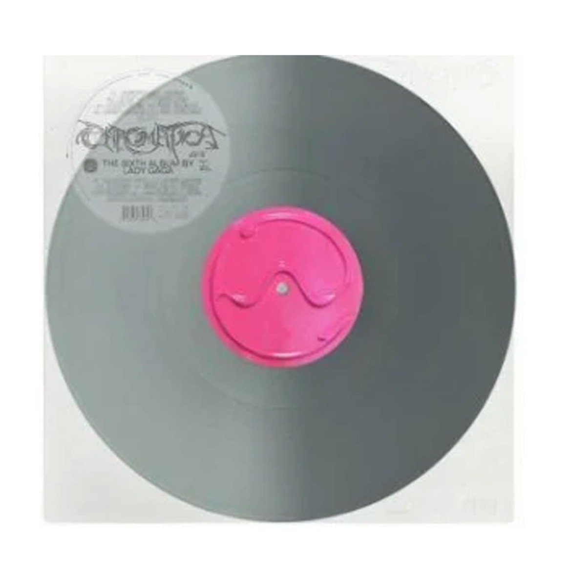 Lady Gaga - Chromatica LP -Silver Vinyl-