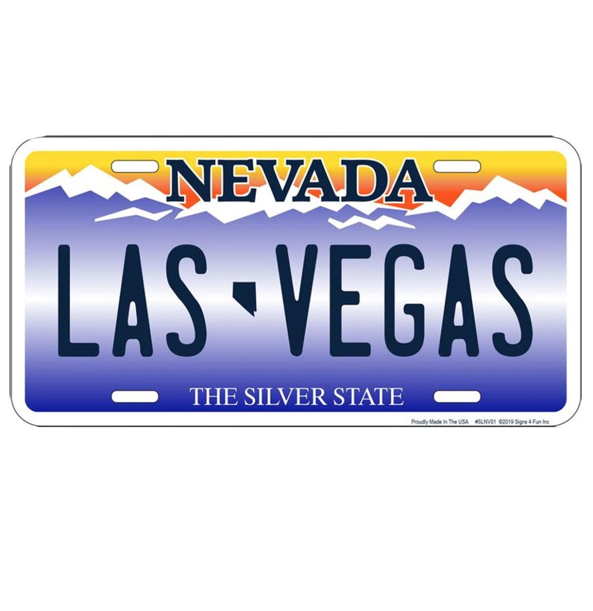 Las Vegas Nevada Kentekenplaat