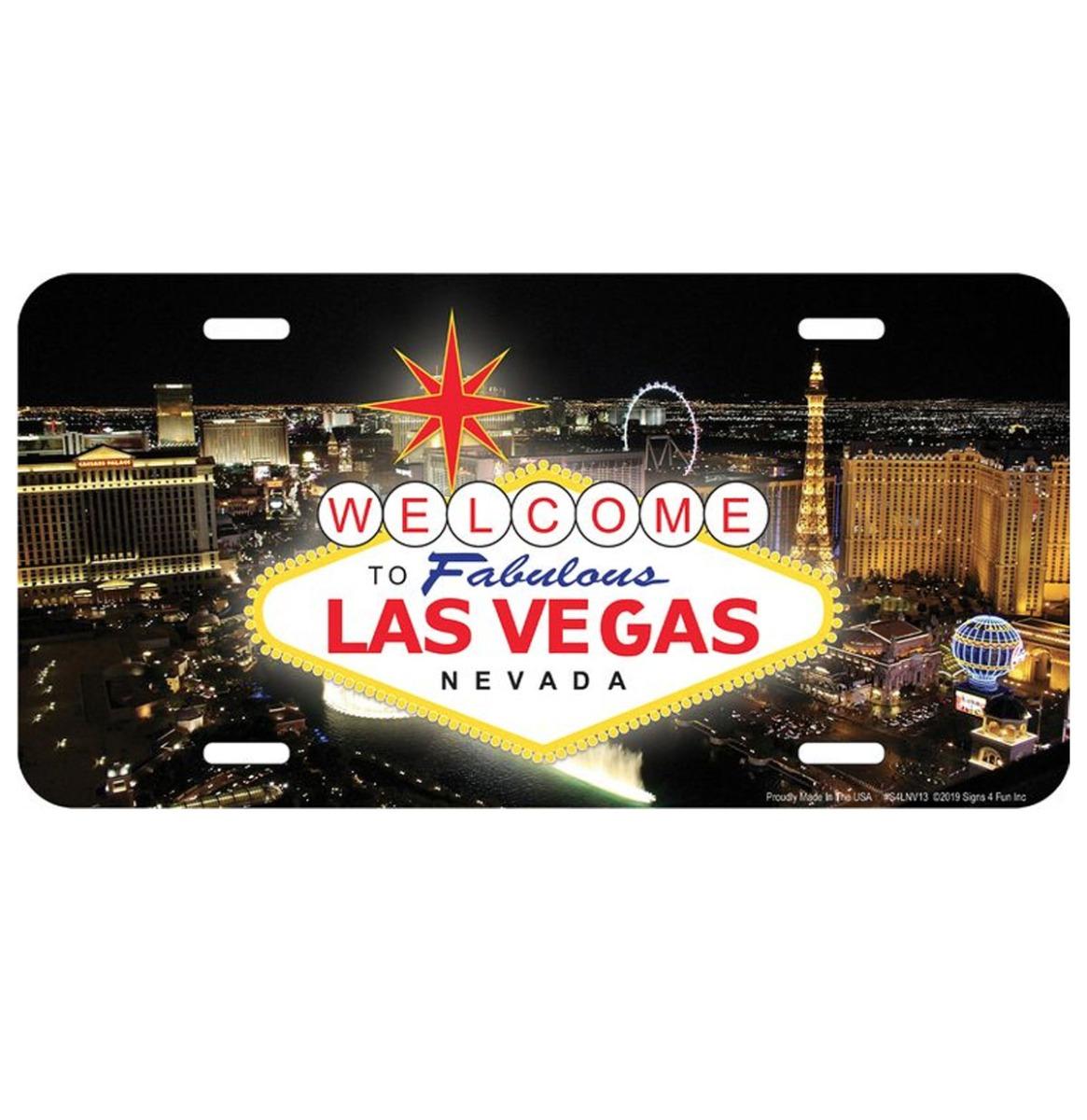 Las Vegas Nevada Skyline Kentekenplaat