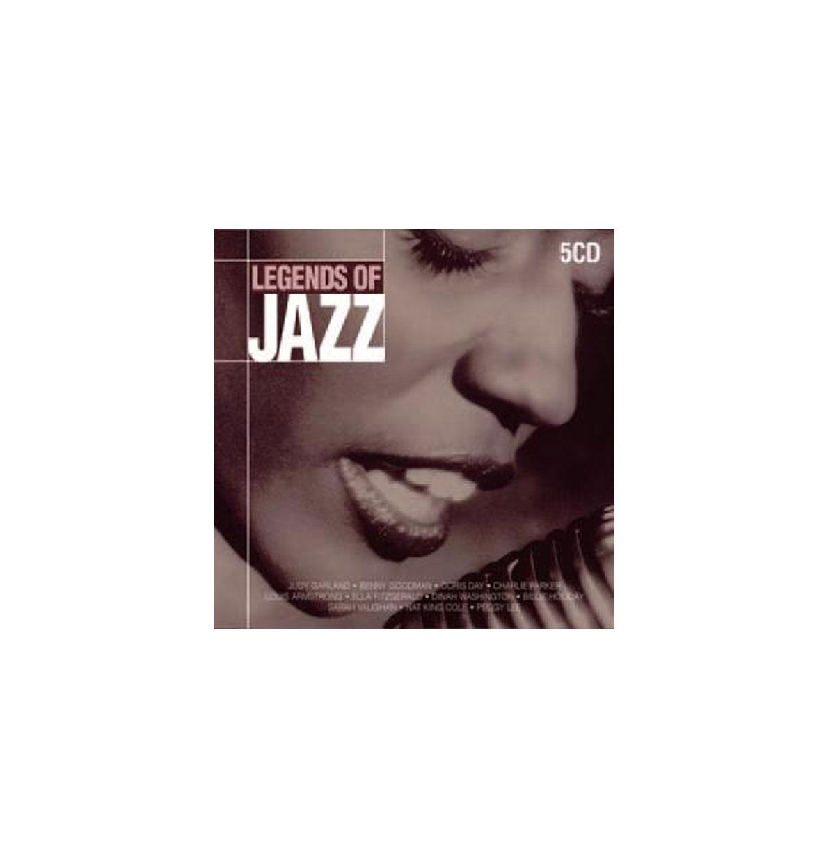 Diverse Artiesten - Legends of Jazz 5CD