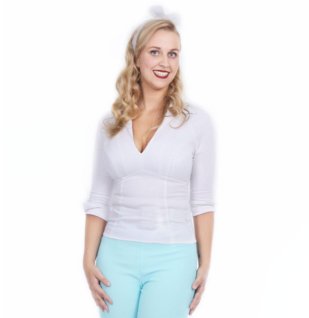 Lauren Top, White