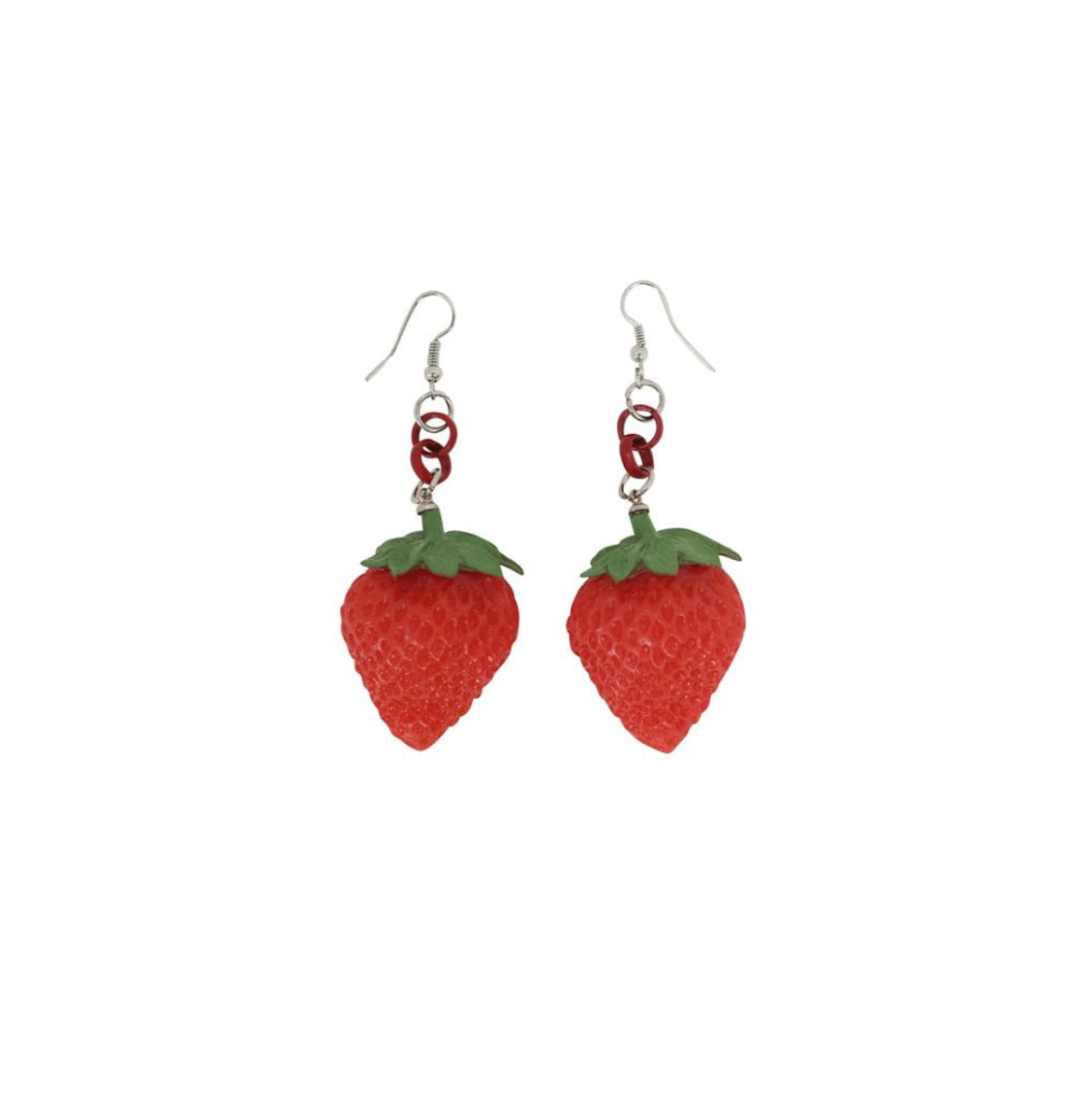 Lily Strawberry Oorbellen