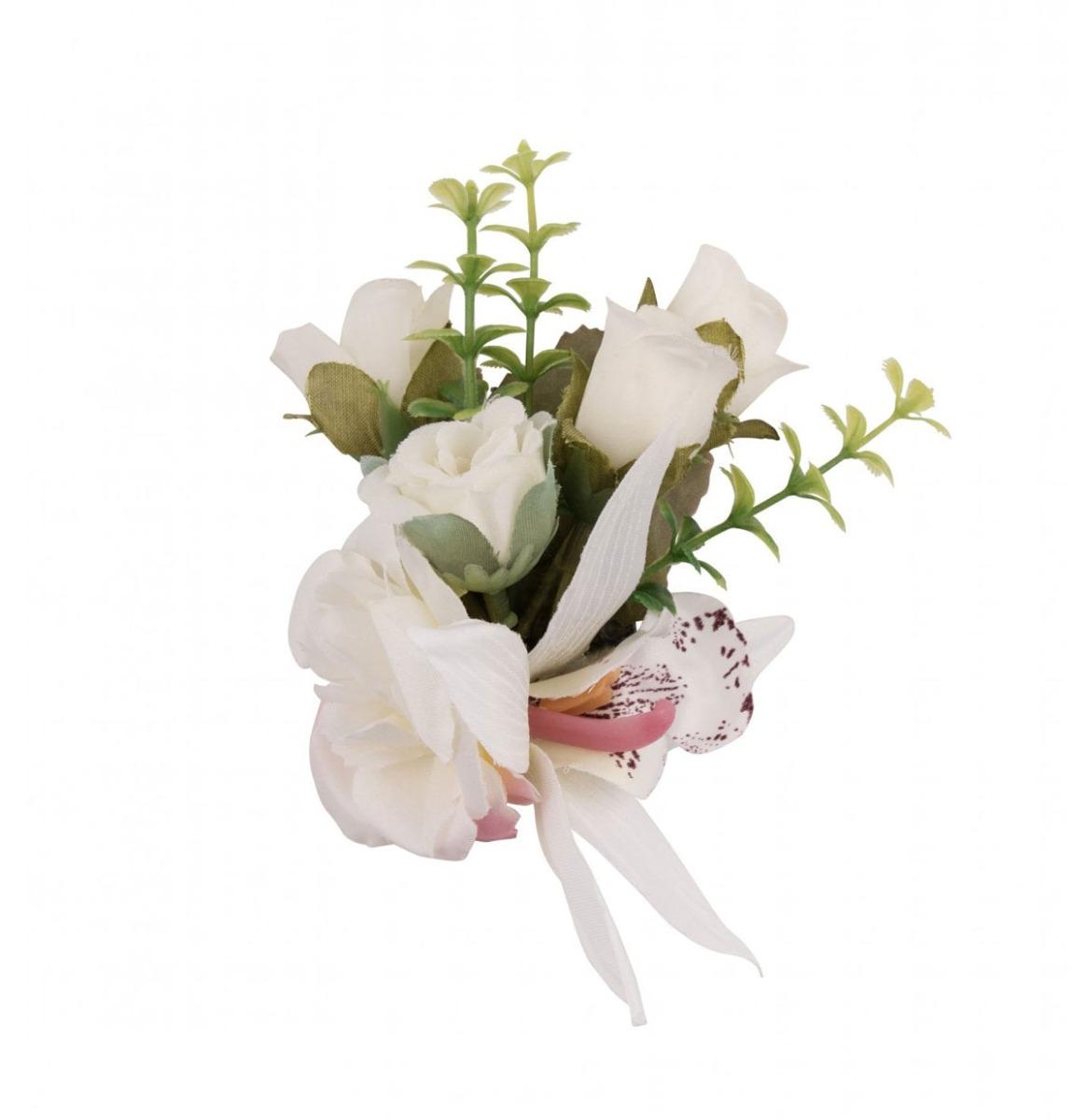 Little Rose Cluster White