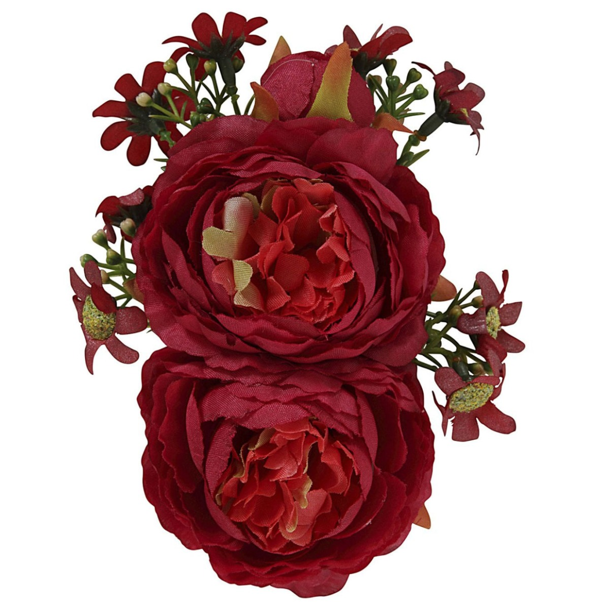 Collectif Lorna Hair Flower Rood