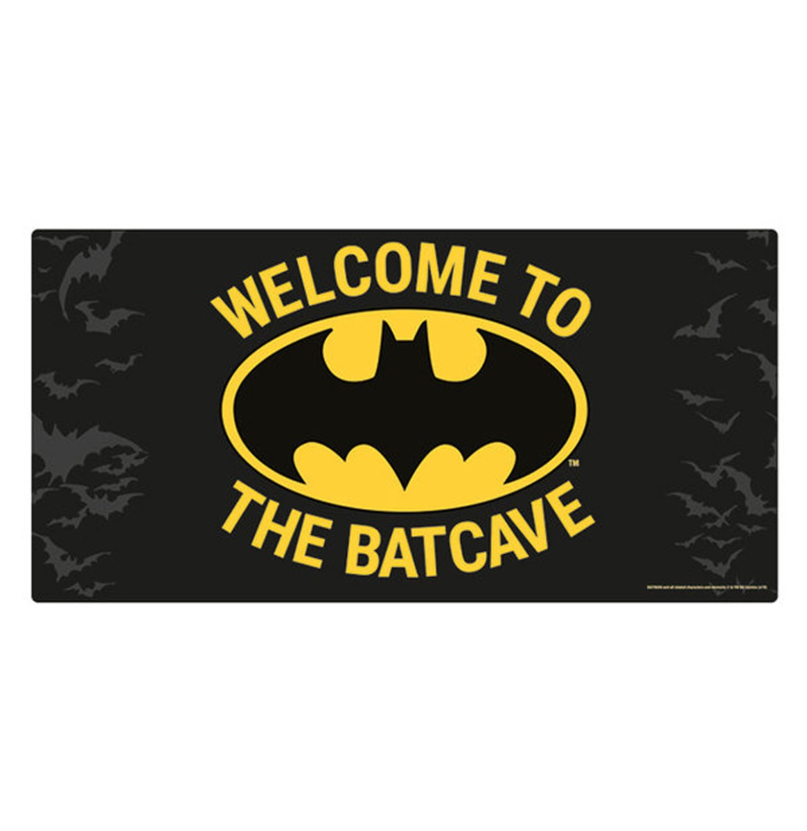 Batman: Welcome To The Batcave Metalen Bord