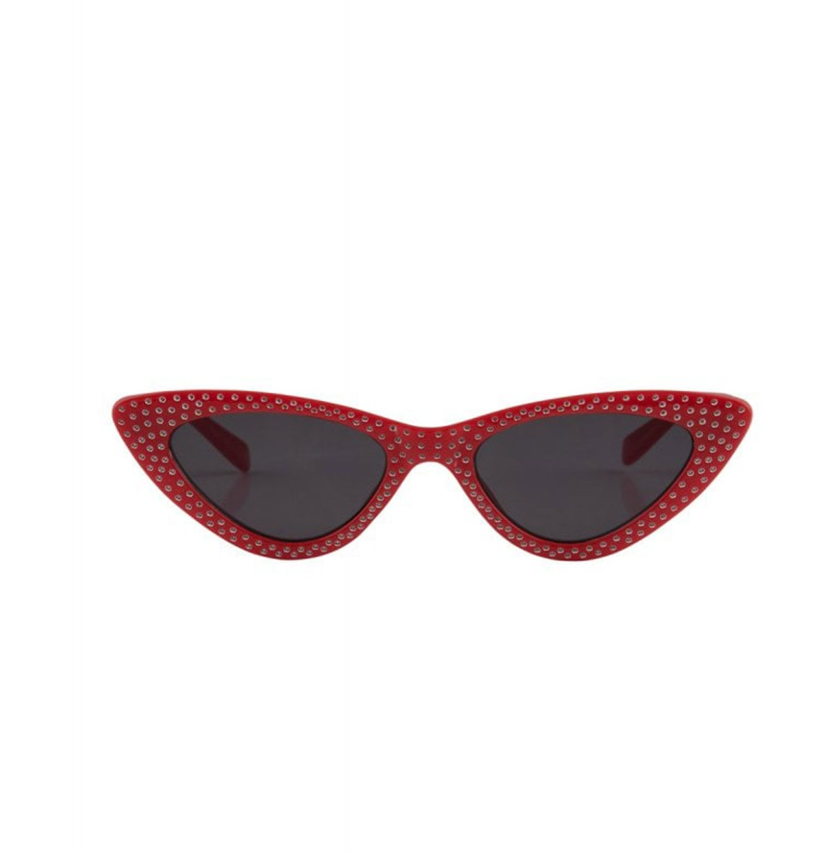 Lucille Cateye Sunglasses Rood