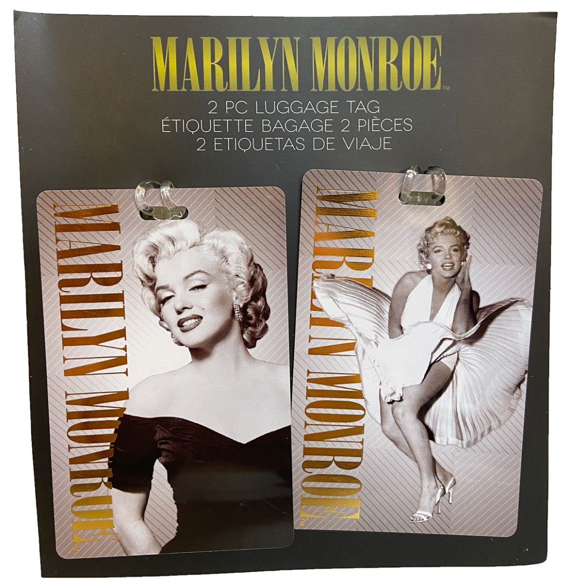 Marilyn Monroe 2 Stuks Bagagelabel