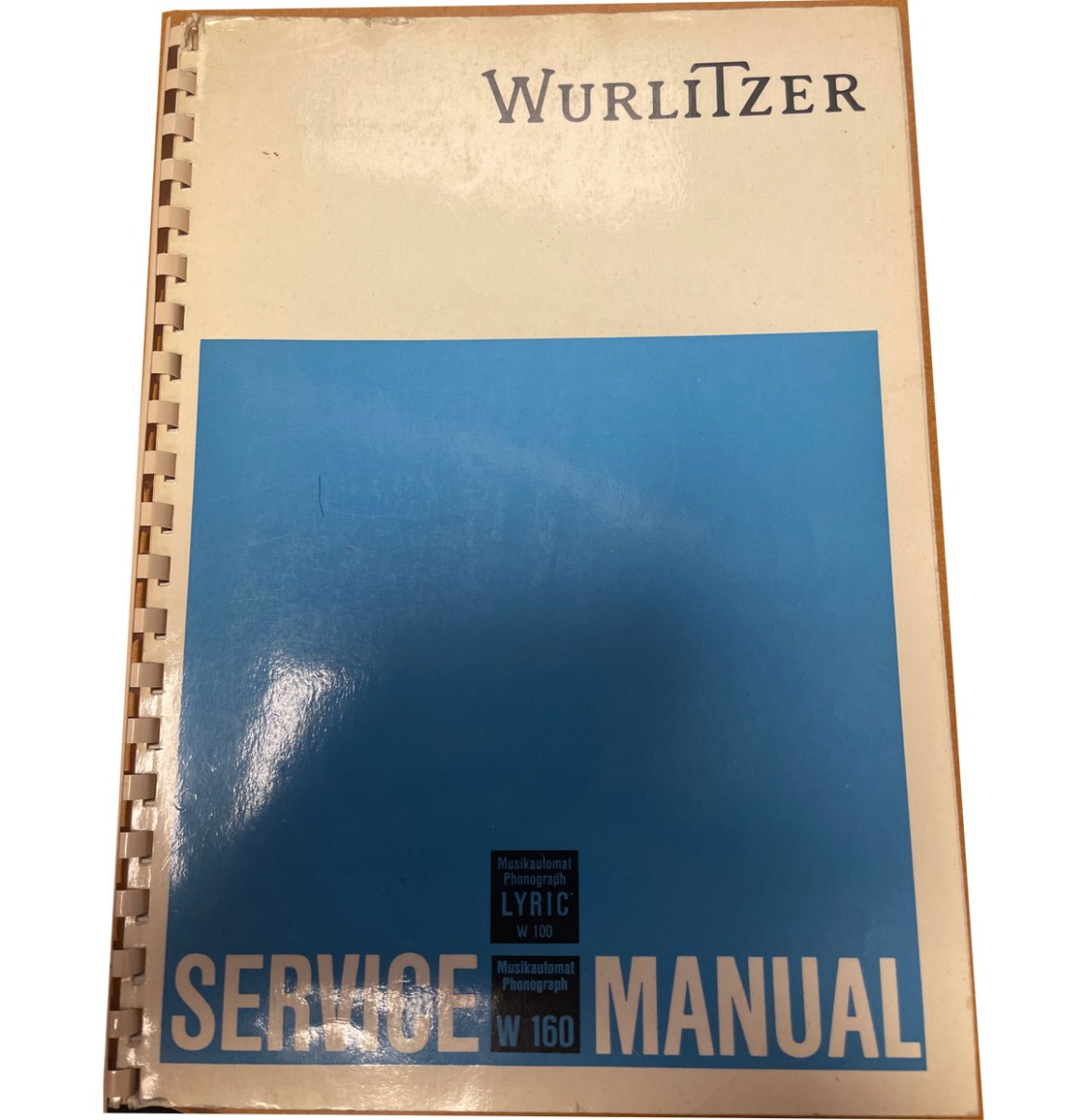 Origineel Manual Wurlitzer Lyric W100 And 160