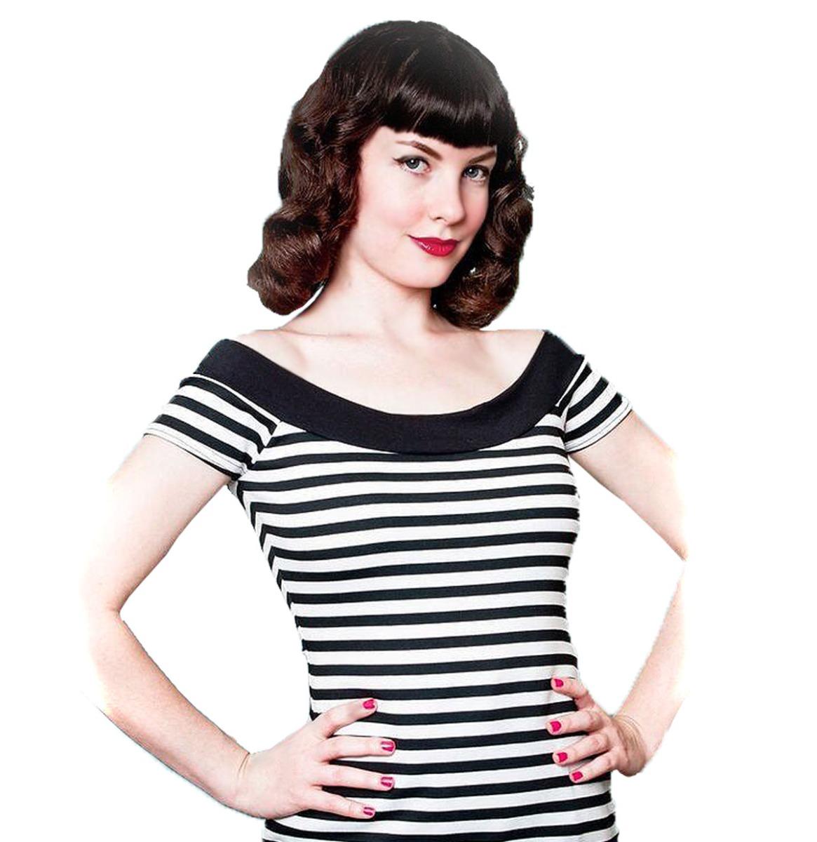 Marilyn Tee Stripes