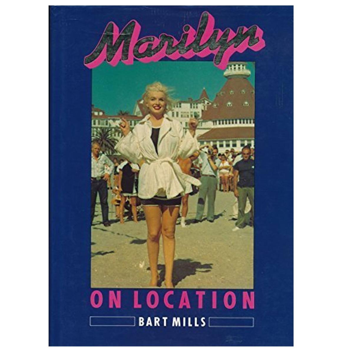 Marilyn Monroe - Marilyn On Location Boek Hardcover Collectible