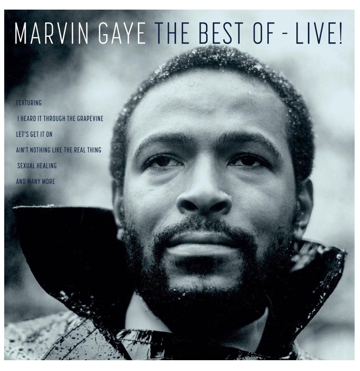 Marvin Gaye - The Best Of - Live LP