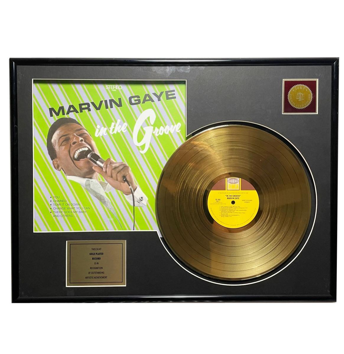 Marvin Gaye - In The Groove 24KT Gouden Plaat LP