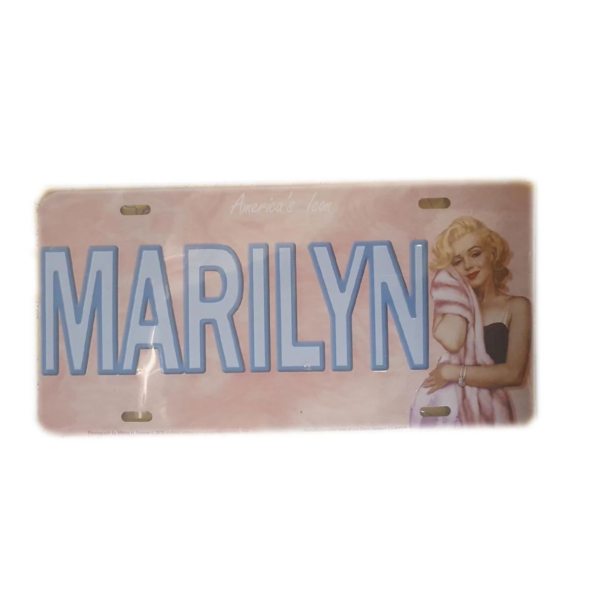 Marilyn MonroeKenteken Plaat Marilyn