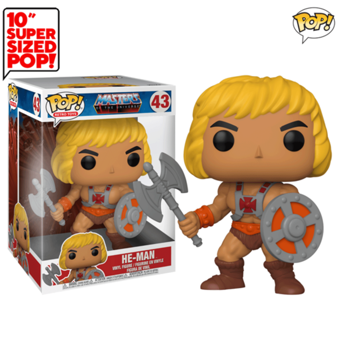 Funko Pop! Masters of the Universe - He-Man 25 cm