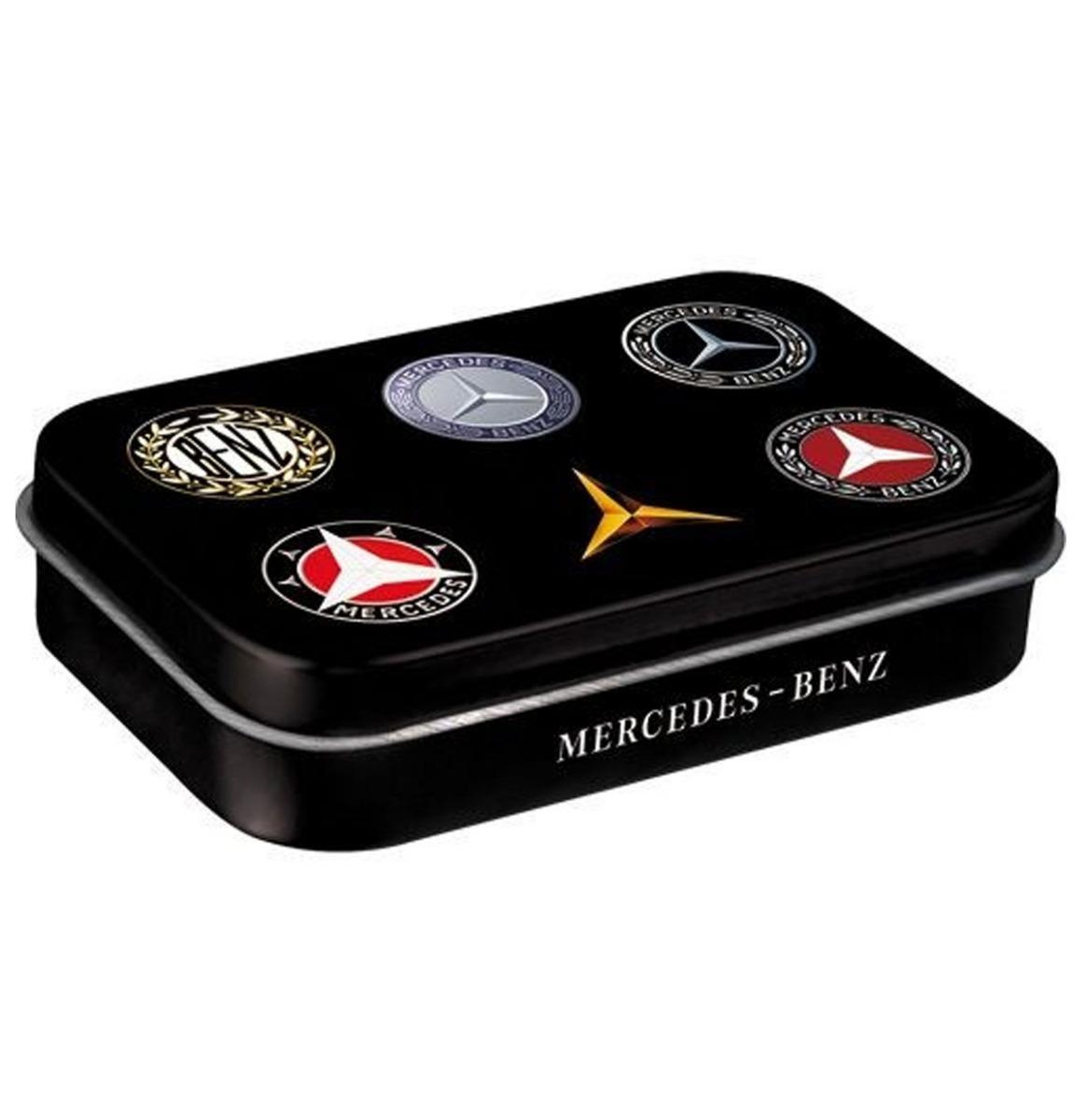 Mercedes Benz Logo's Pepermunt Blik XL