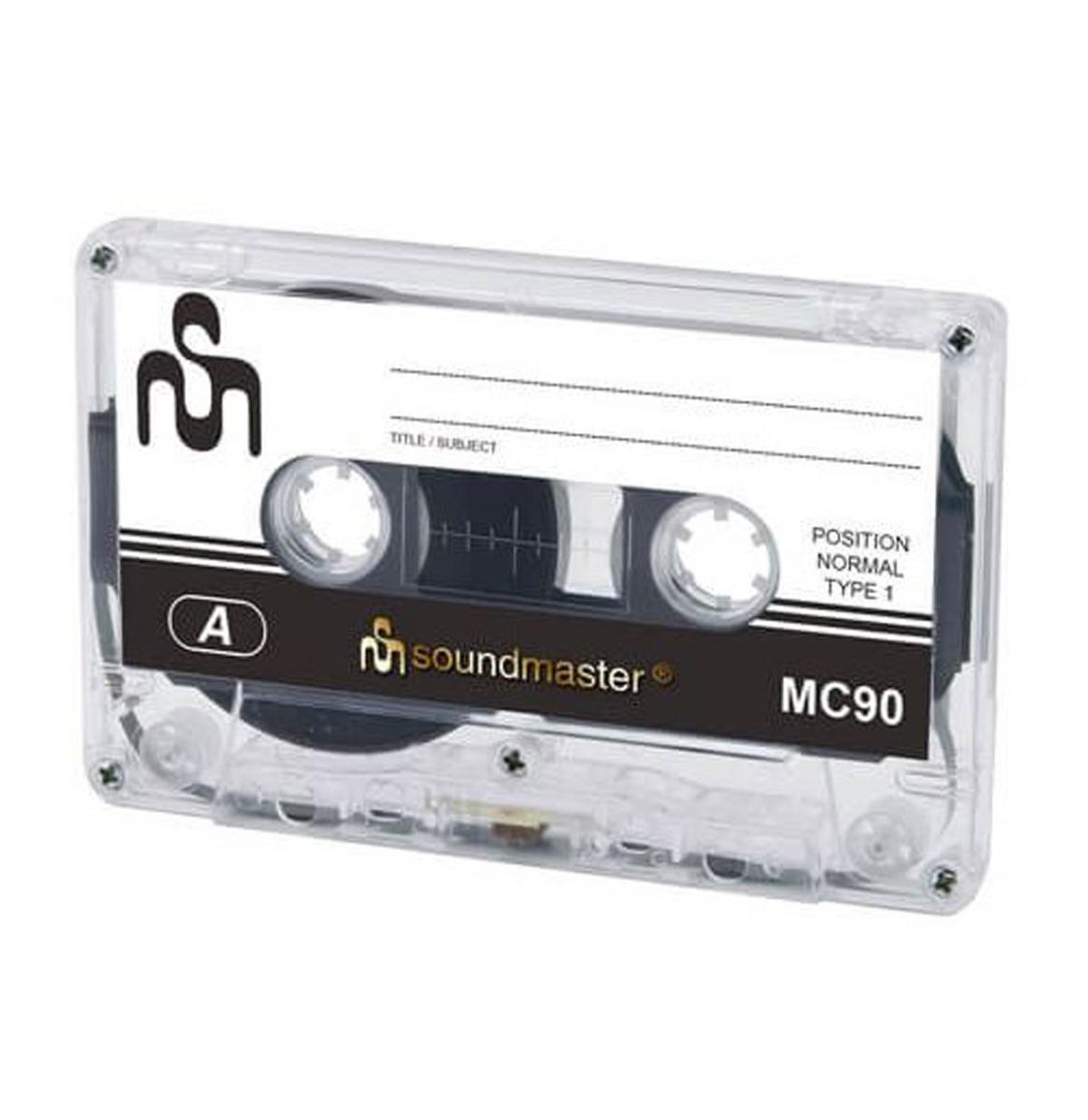 Soundmaster Cassette Bandjes 5 Stuks