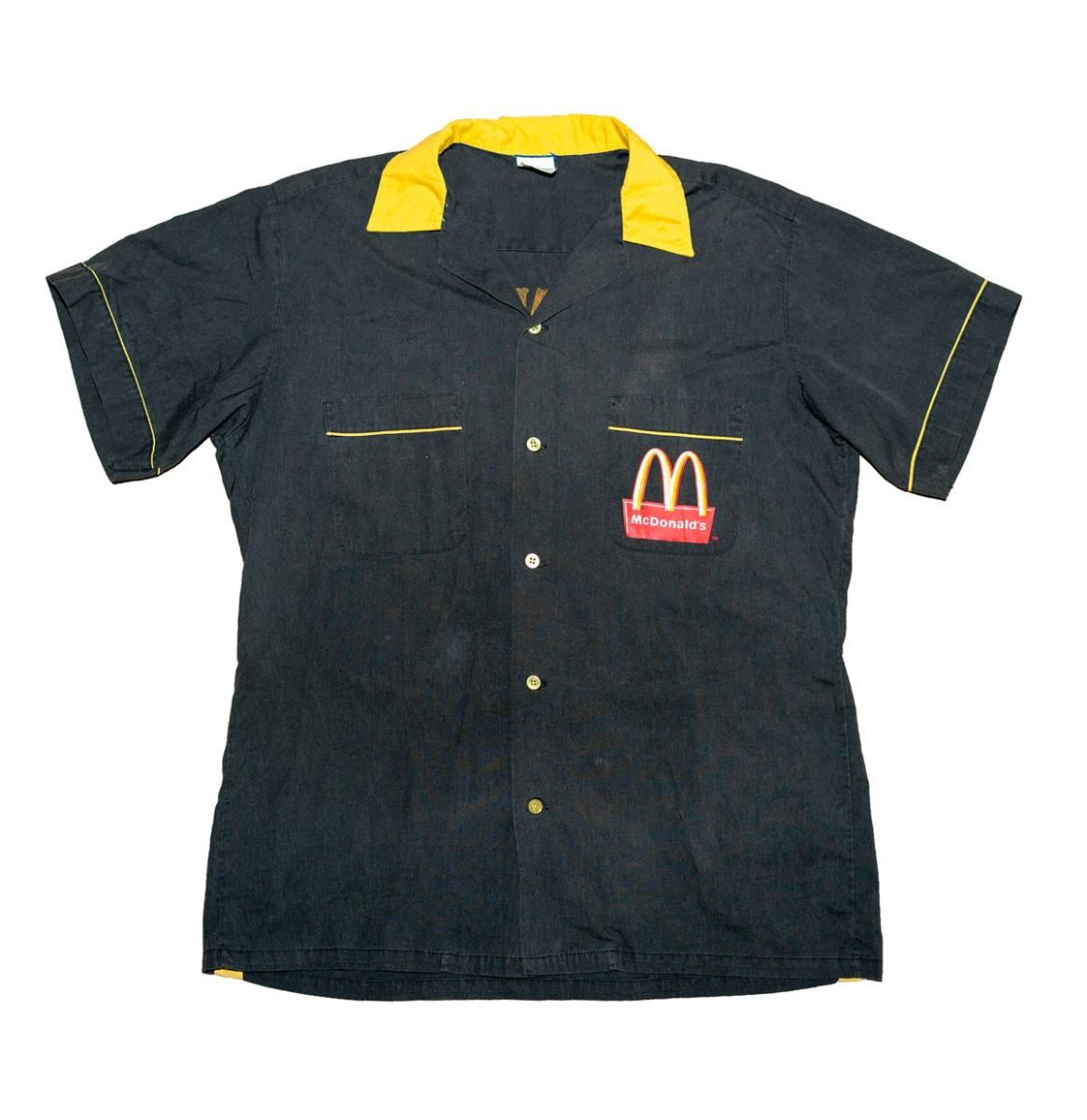 Bennies Fifties McDonald's Bowlingshirt - Gebruikt