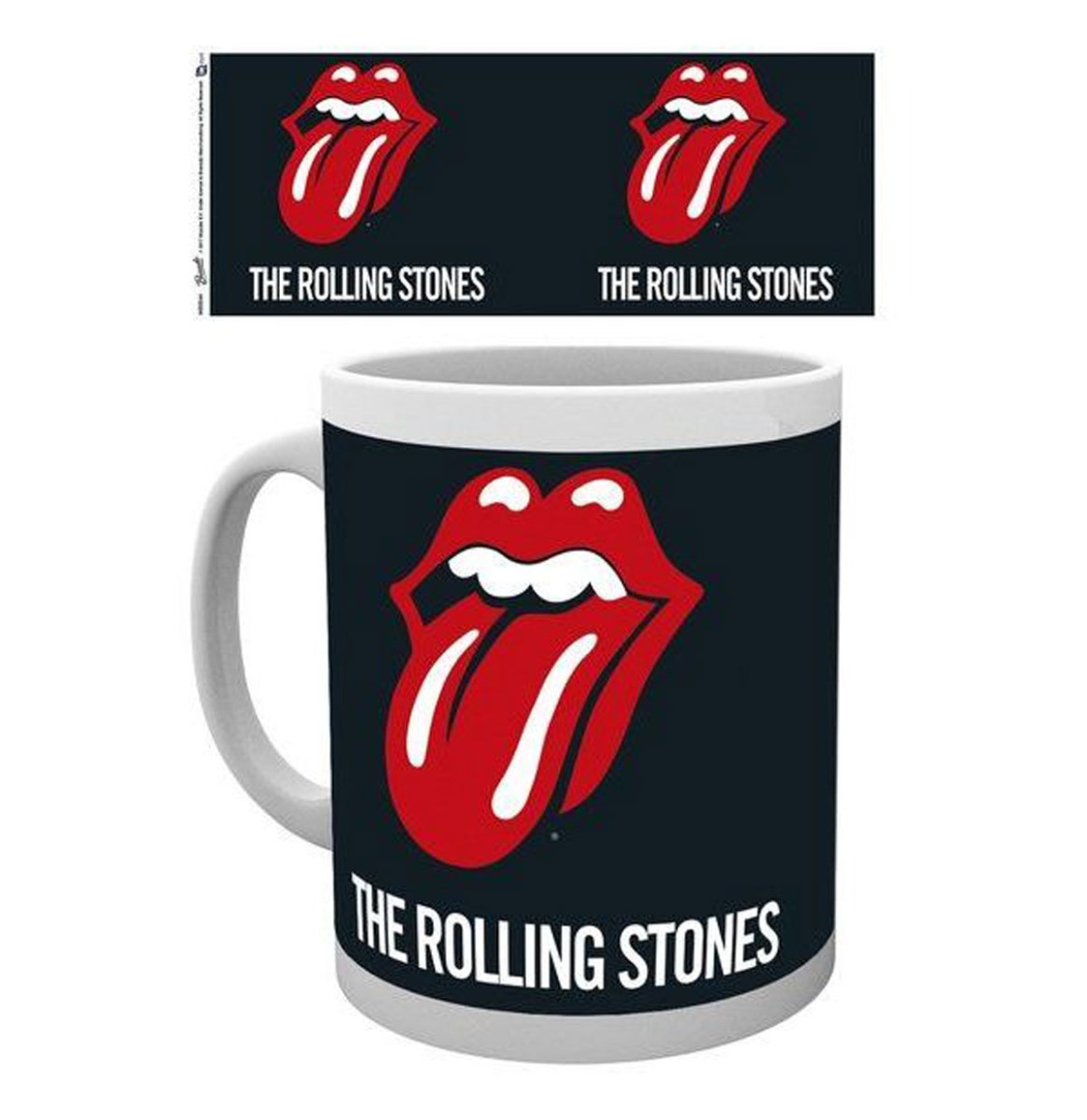 The Rolling Stones Logo Mok