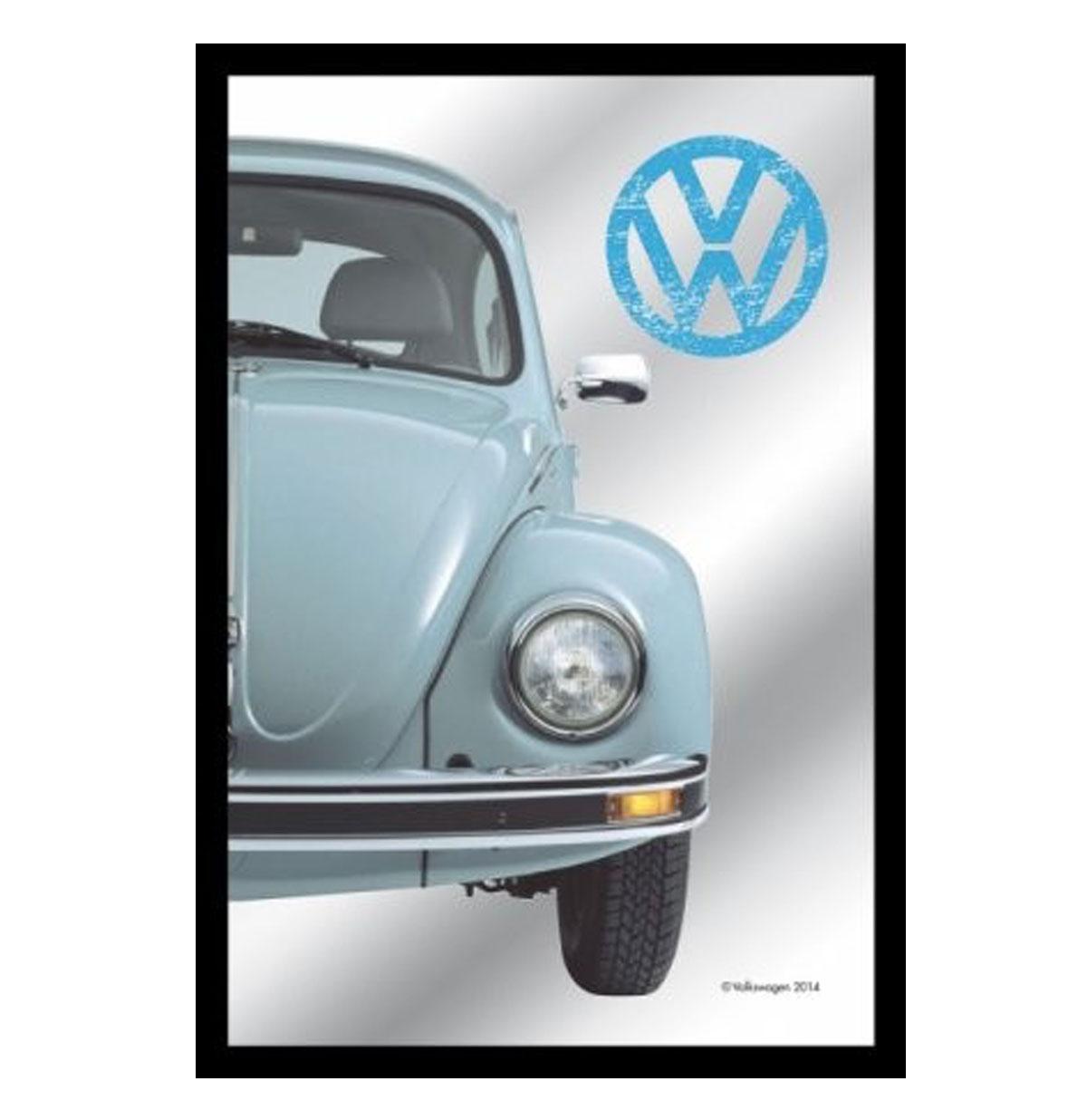 VW Beetle Green Mirror