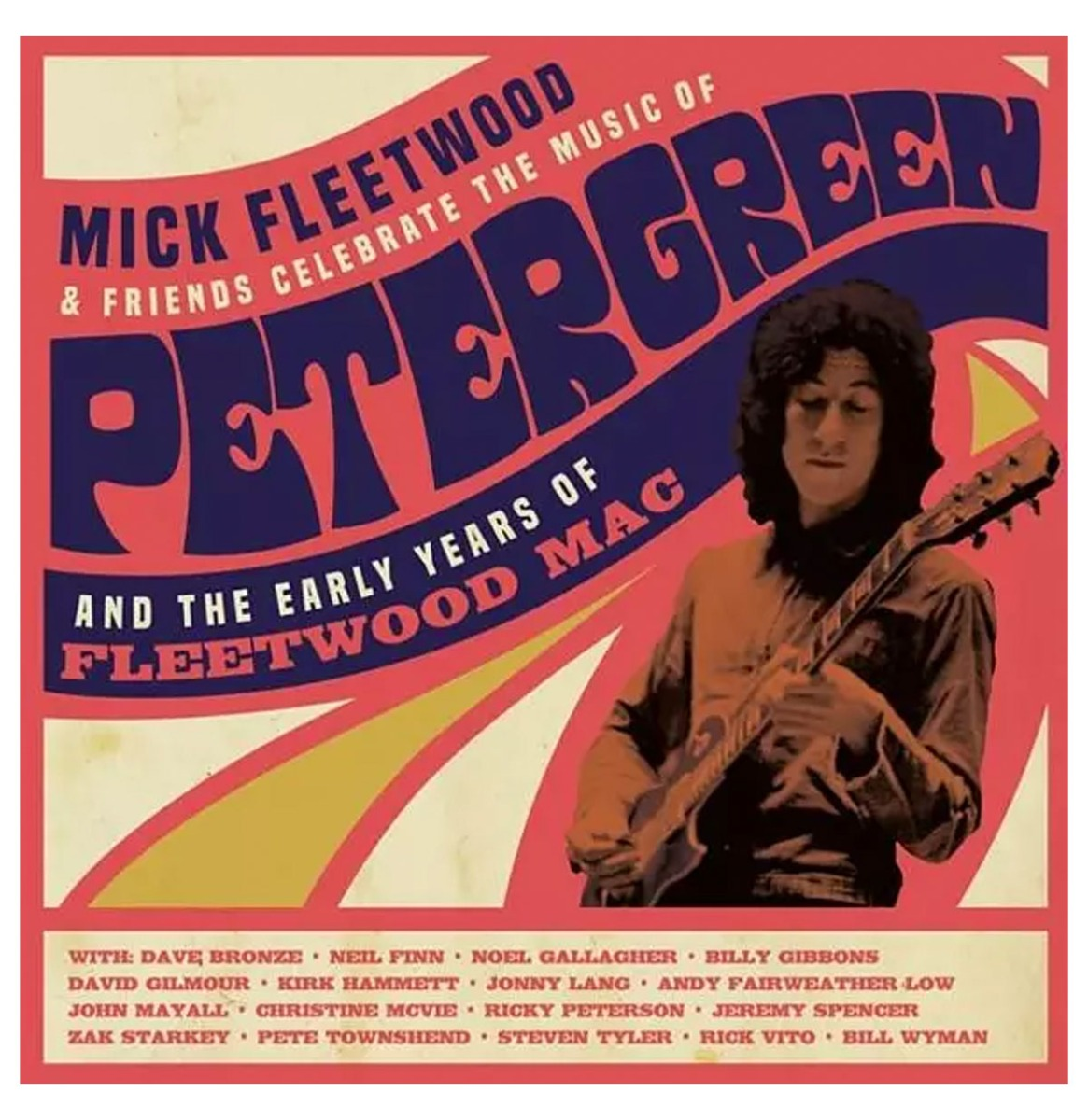 Mick Fleetwood & Friends Celebrate the Music of Peter Green 4LP Box