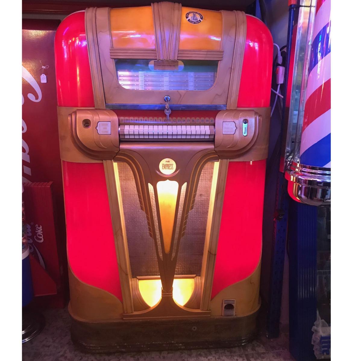 Mills Empress 'Florentine' Jukebox 1940-41 - Gerestaureerd