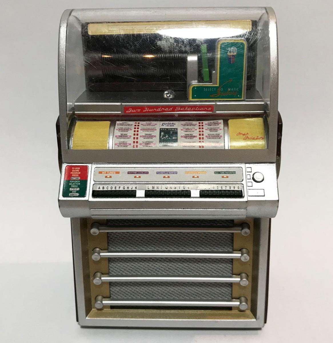 Seeburg V200 Miniatuur Jukebox