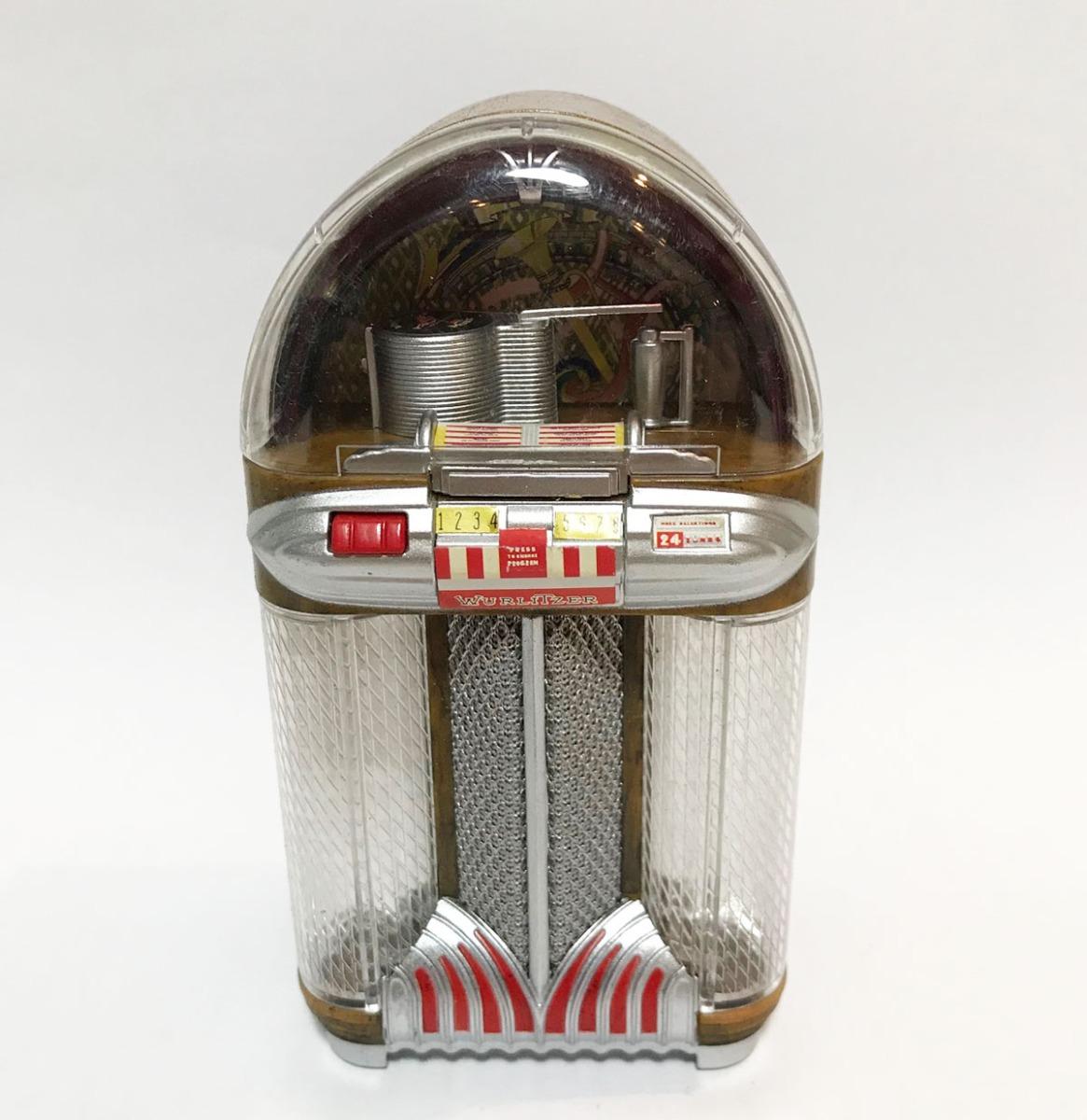 Wurlitzer 1100 Miniatuur Jukebox