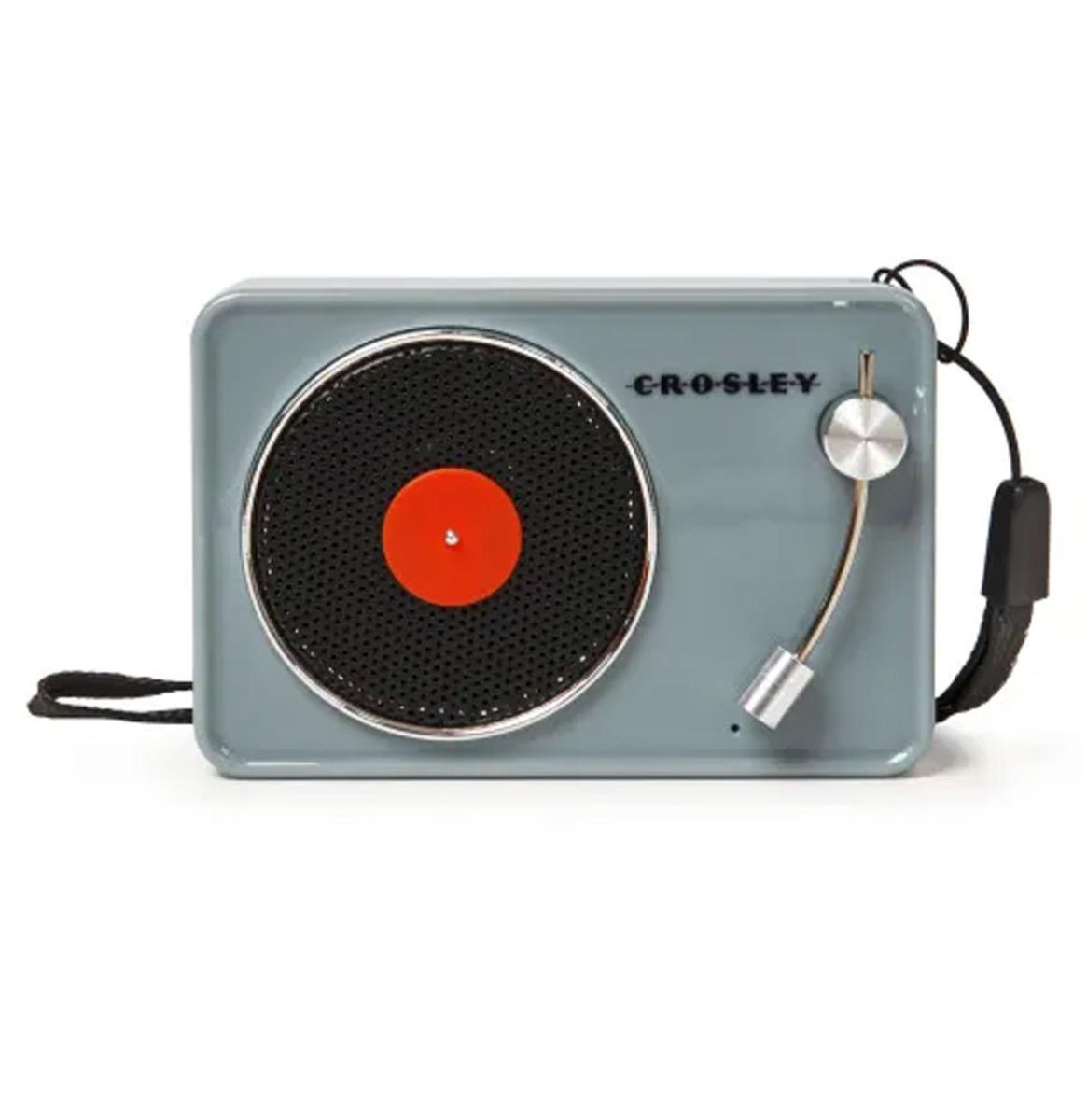 Crosley Mini Turntable Bluetooth Speaker - Tourmaline