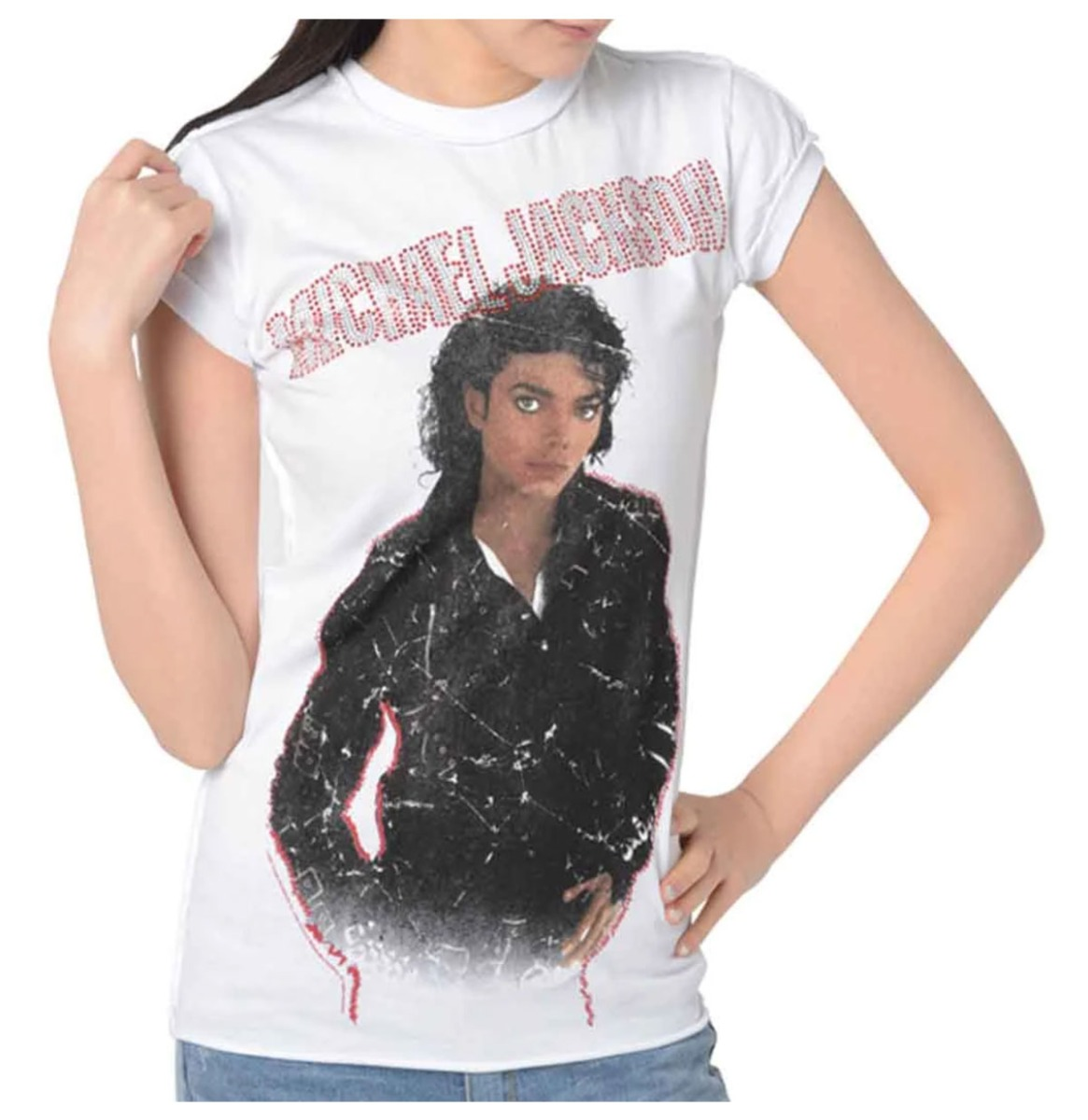 Michael Jackson Bad Dames Shirt