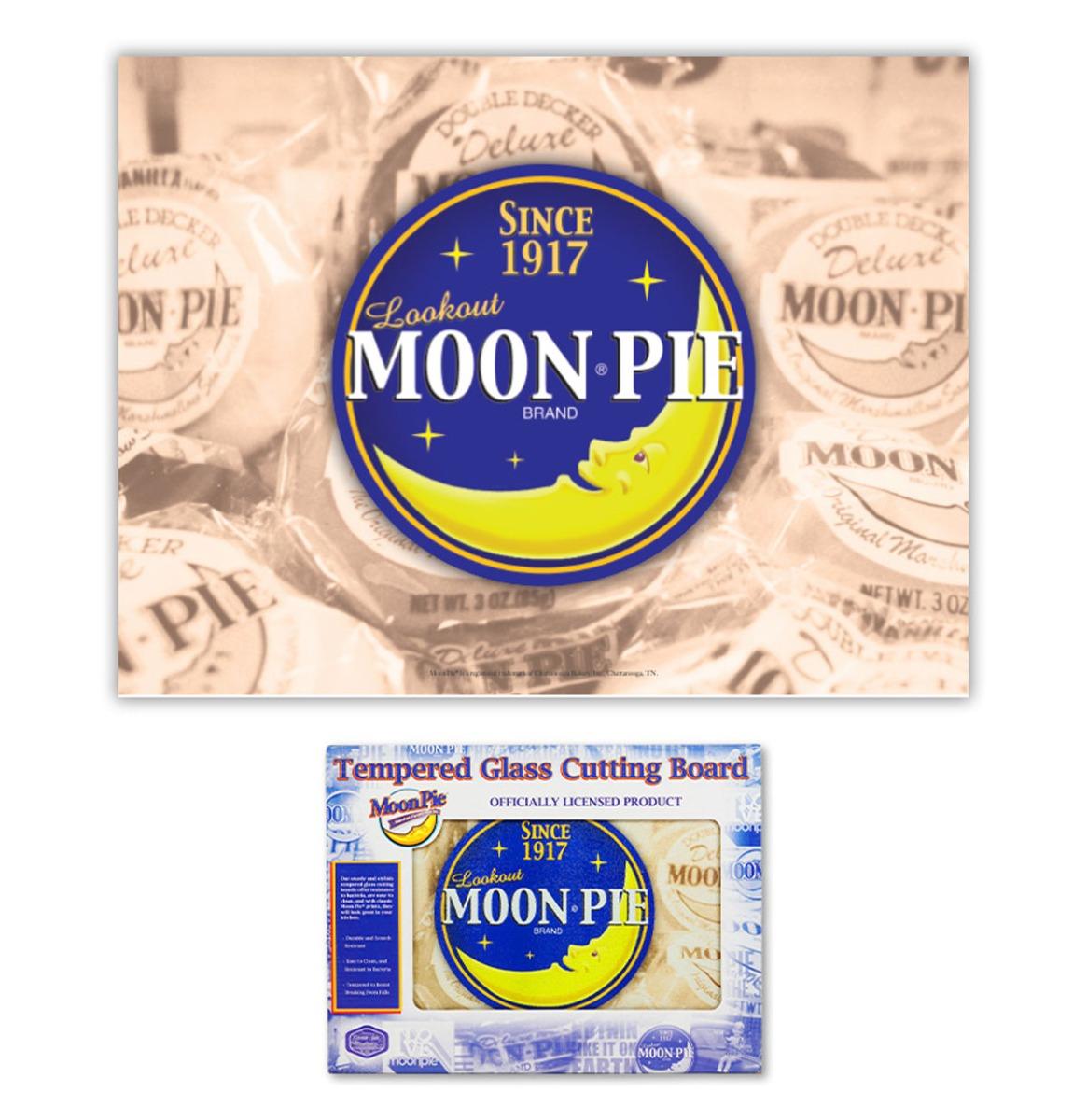 Moon Pie Glazen Snijplank - 40 x 30 cm