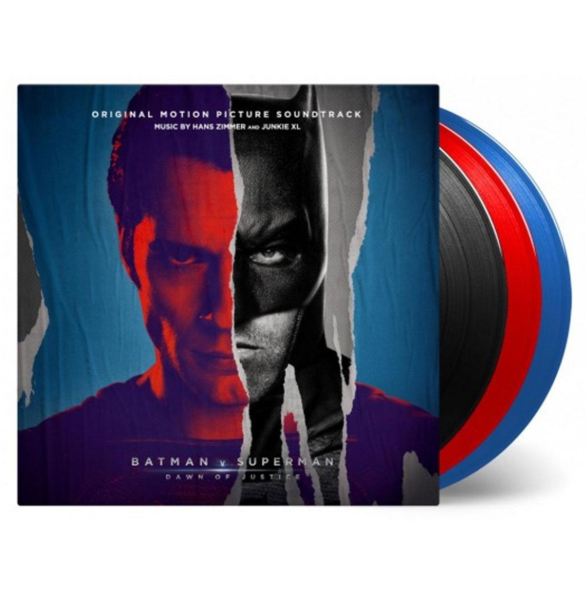 OST - Batman V Superman: Dawn of Justice 3LP Beperkte Oplage