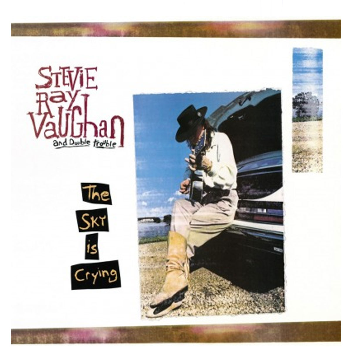 Stevie Ray Vaughan - The Sky Is Crying LP