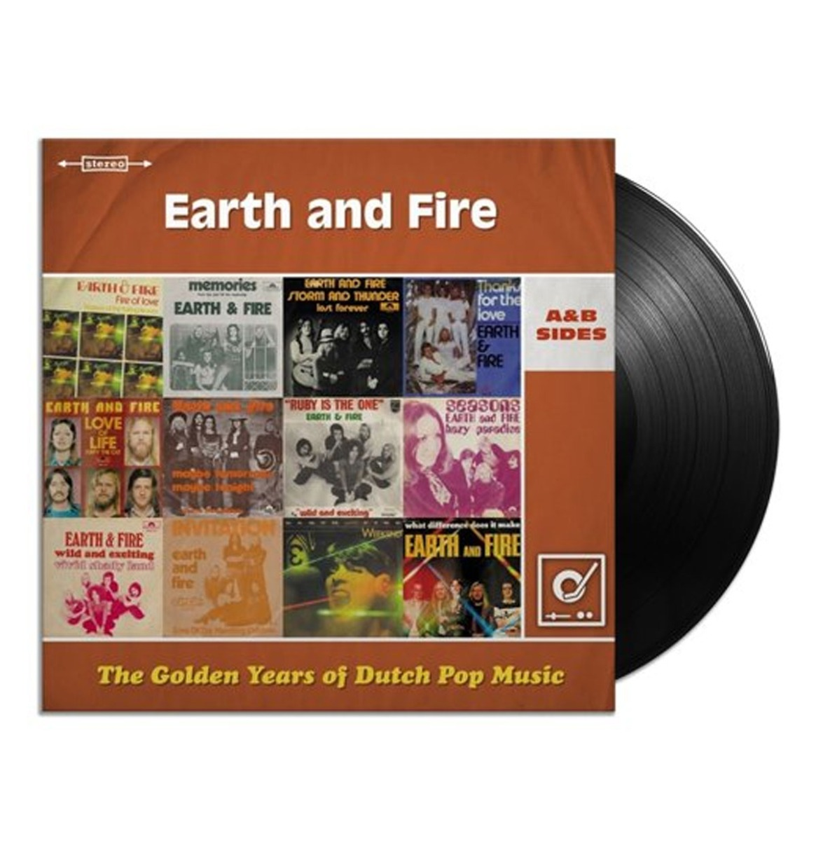 Earth And Fire - The Golden Years Of Dutch Pop Music 2LP