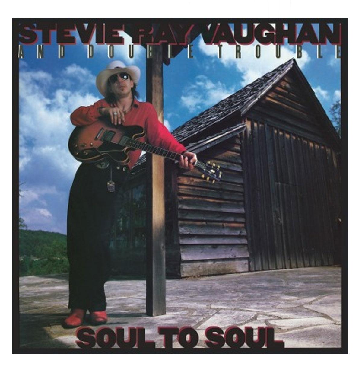 Stevie Ray Vaughan - Soul To Soul LP