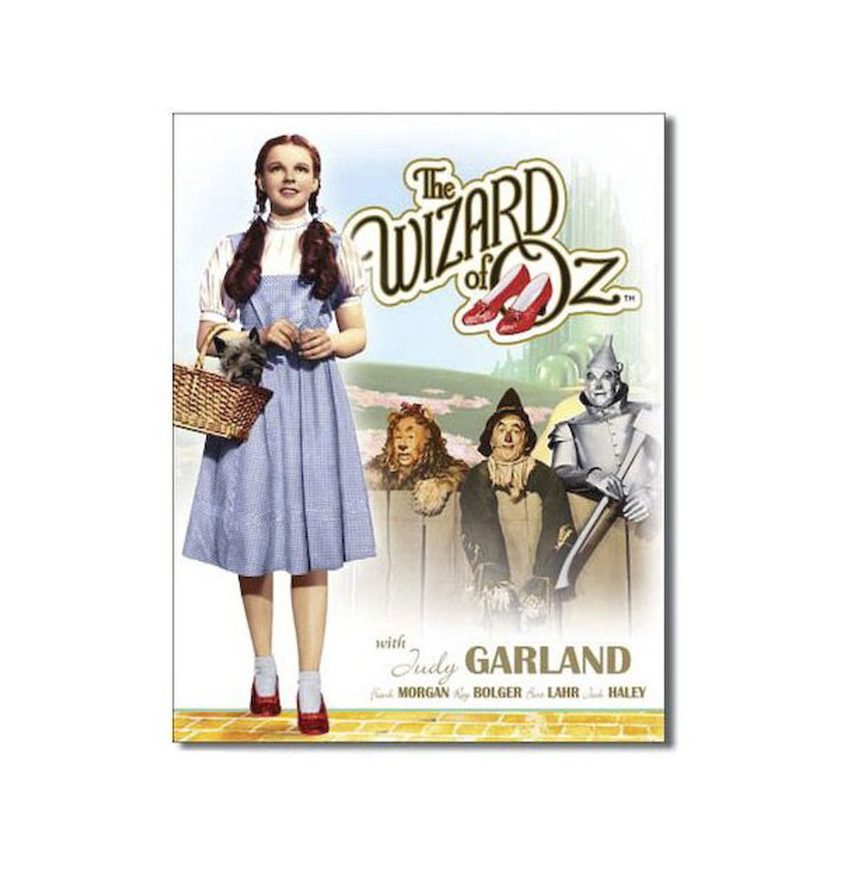 Wizard of Oz Film Poster Metalen Bord