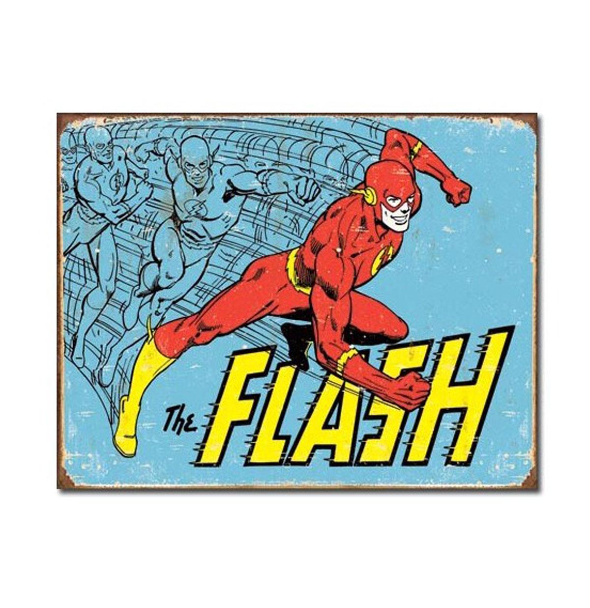 Flash Gordon The Flash Metal Print - Poster
