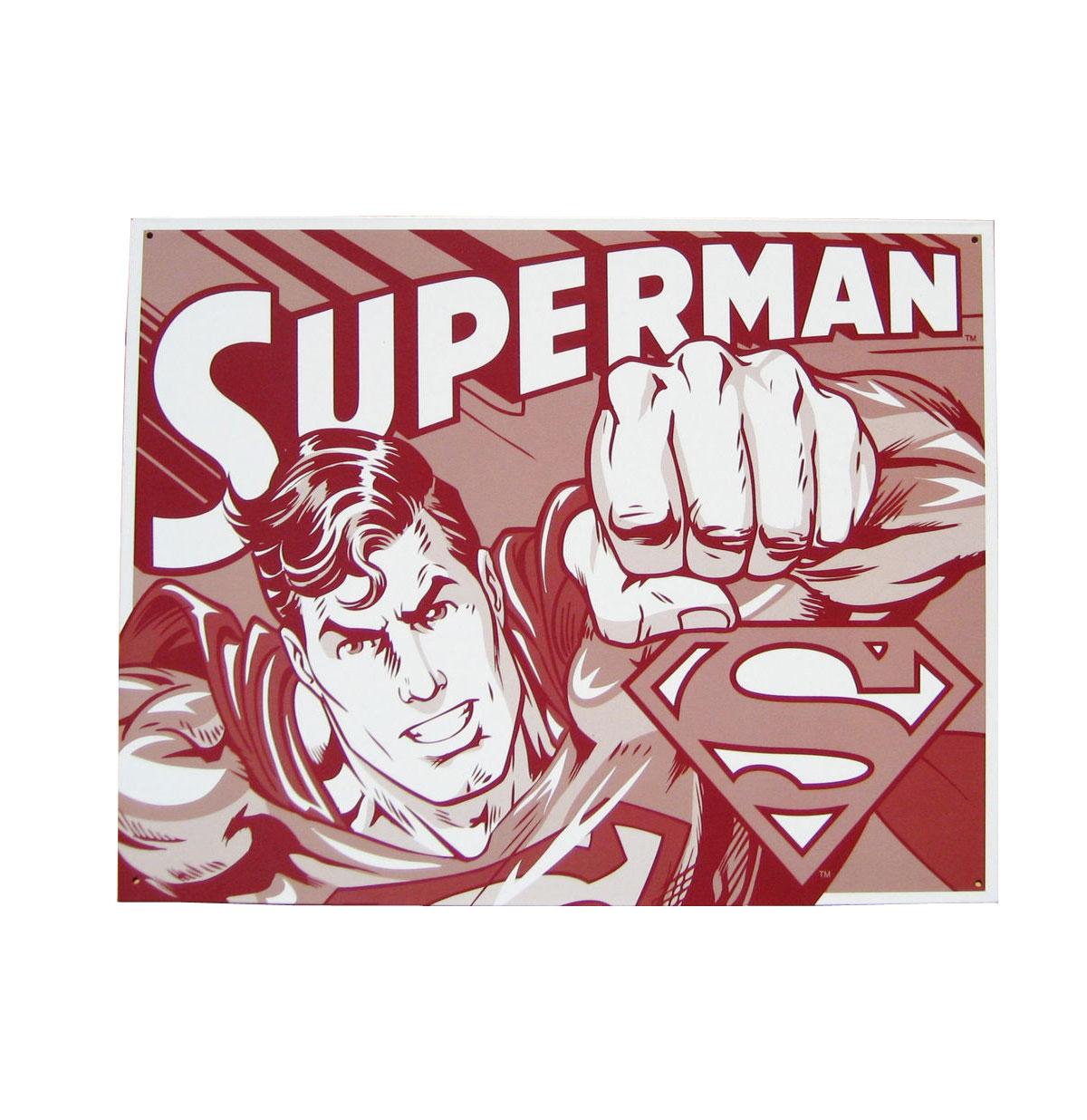 Metal Poster - DC Comics - Superman