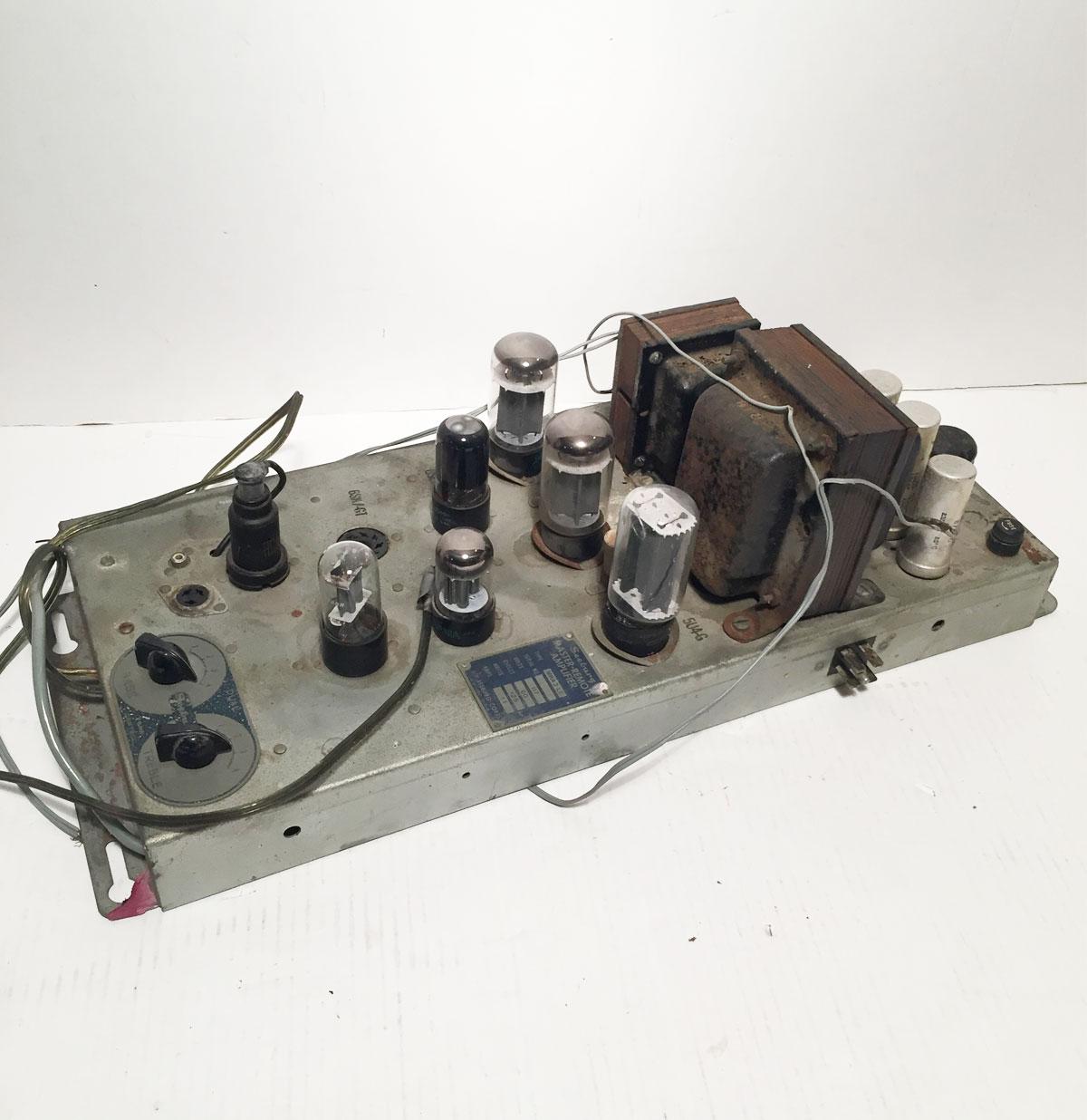 Seeburg MRA3-L6 Versterker voor de Seeburg C of W jukebox - origineel