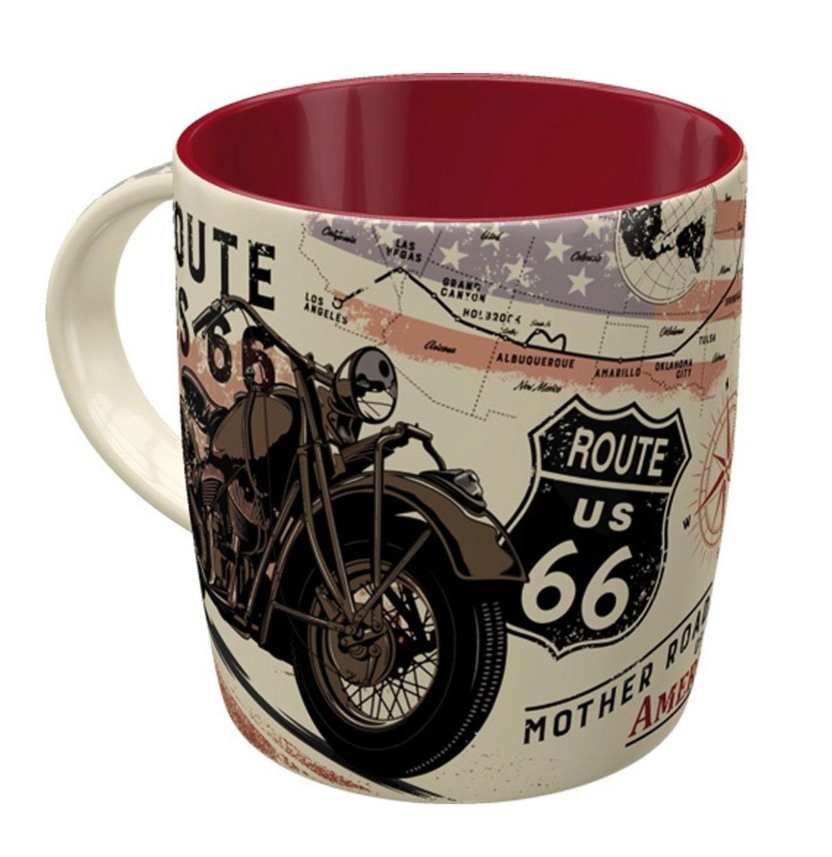 Mug Route 66 Bike Map
