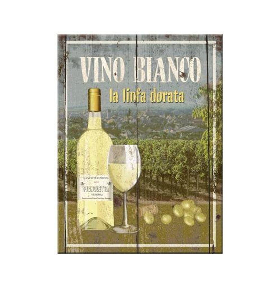 Magneet Vino Bianco