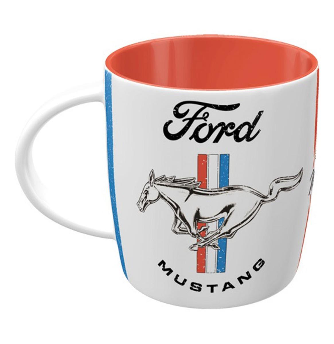 Mok Ford Mustang - Horse & Stripes Logo