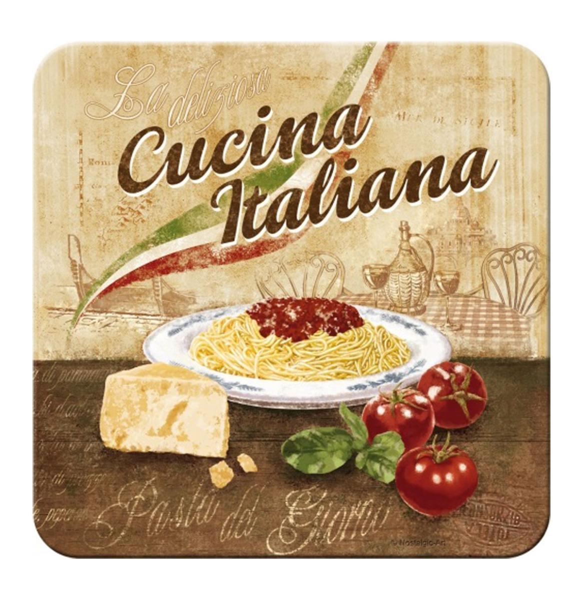 Metalen Onderzetters Cucina Italiana