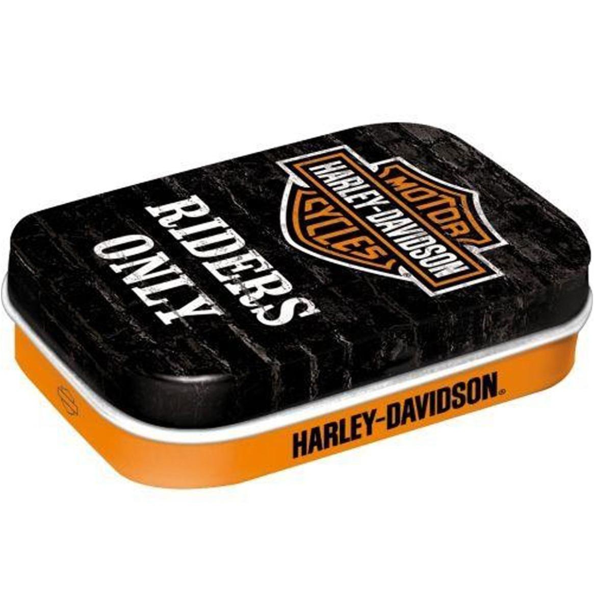 Harley-Davidson Riders Only Pepermunt Blikje